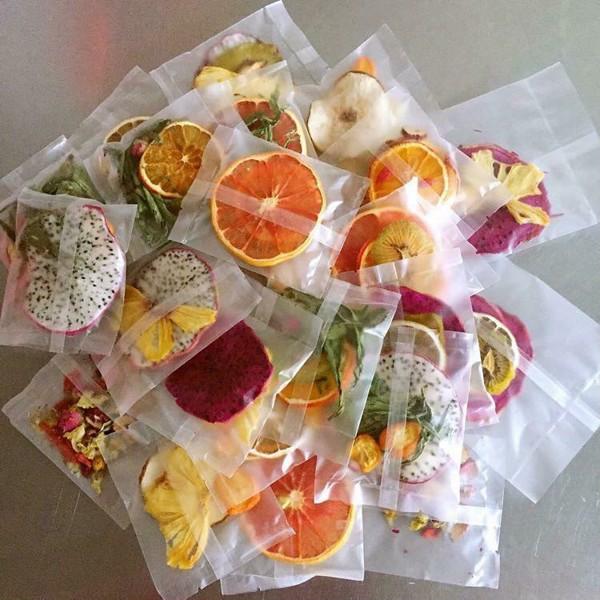 Kết quả hình ảnh cho Túi hoa quả sấy