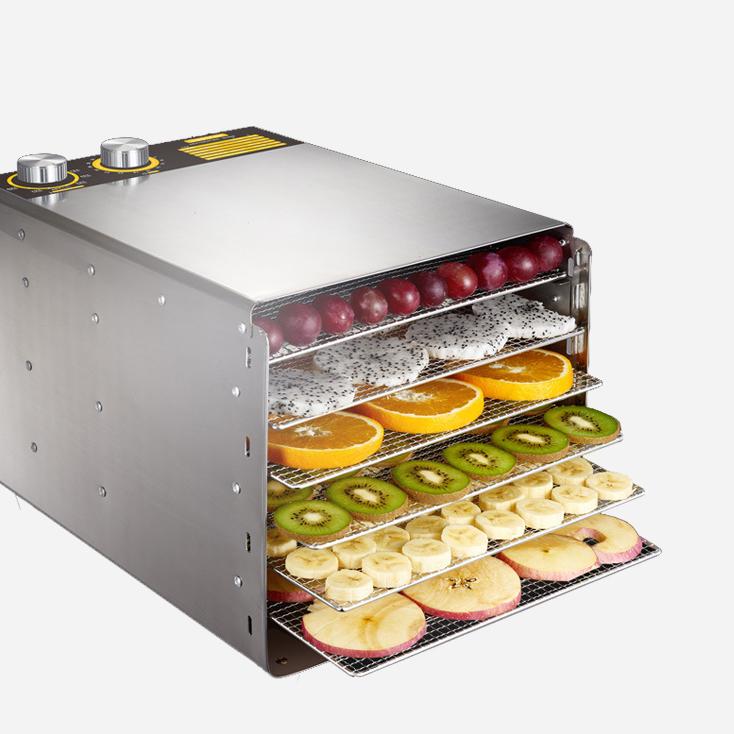 Máy sấy khô thực phẩm mini chất liệu inox dành cho gia đình - Bếp Hyn