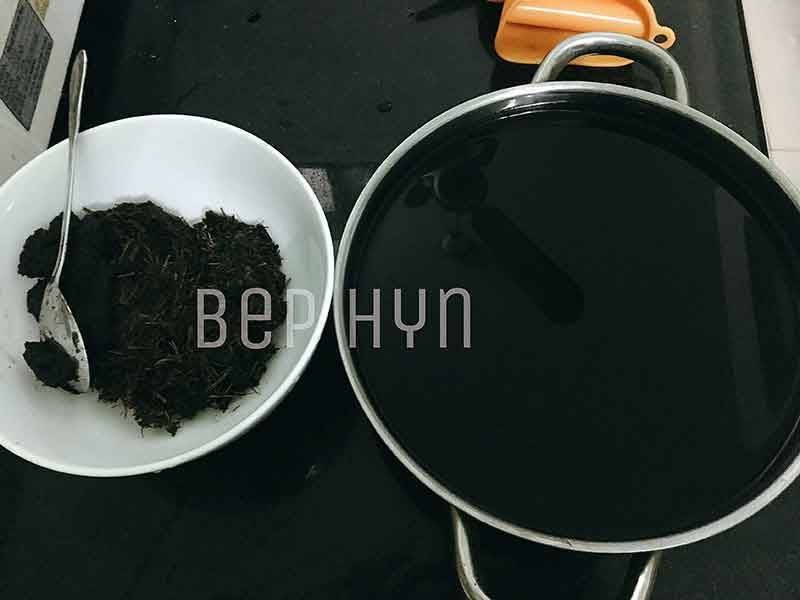 Công thức tự nấu thạch đen