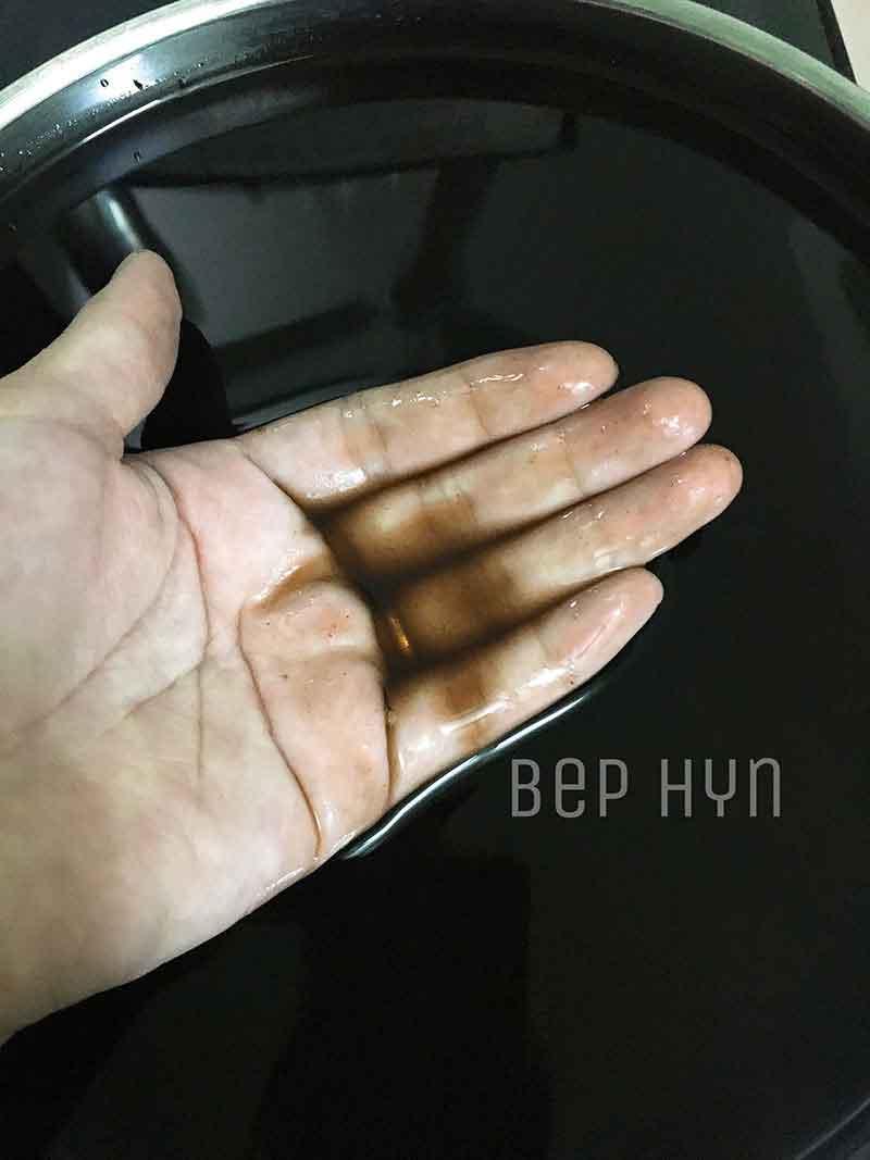 Cách làm thạch đen từ lá thạch