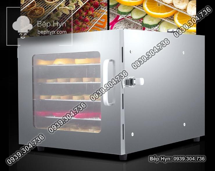 máy sấy khô thực phẩm mini chất liệu inox