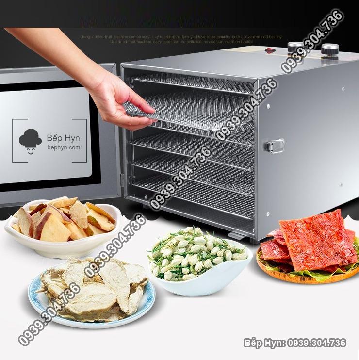 máy sấy thực phẩm mini inox