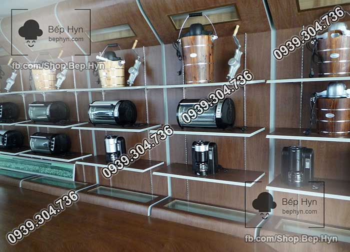 Văn phòng trưng bày của nhà máy sản xuất máy làm kem thùng gỗ