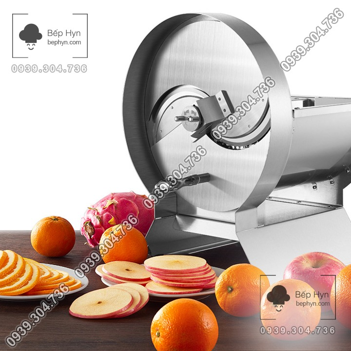 Máy cắt lát rau củ quả trái cây